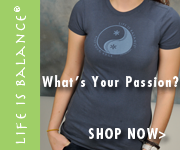 Life is Balance inspirational t-shirts for sports and hobbies