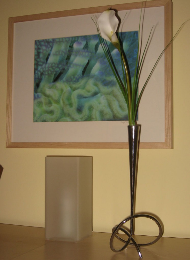 black & blum's Flower Loop flower vase.