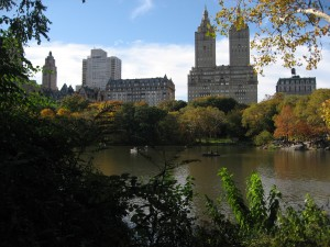 Buildings along Central Park West