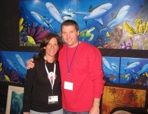 Sheryl Checkman and David Dunleavy at Beneath the Sea