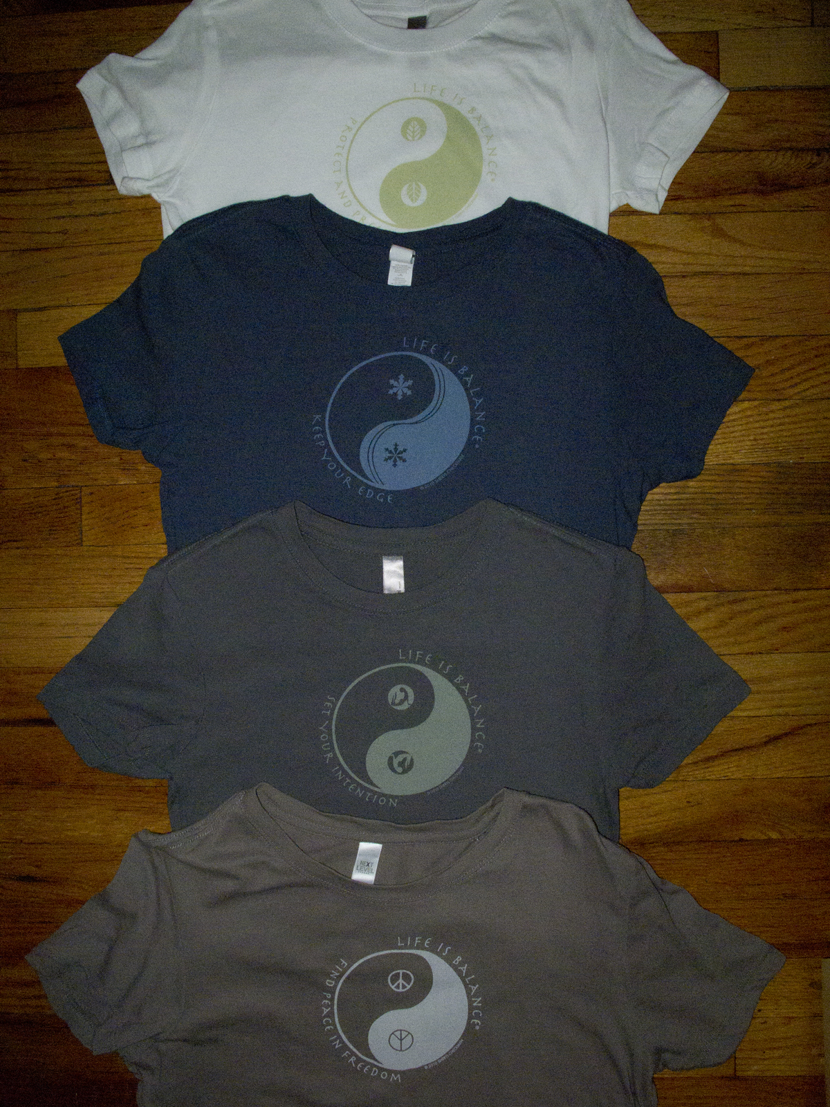 Life is Balance T-Shirts – Hot Off the Press!