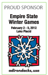 Life is Balance is a sponsor of the Empire State Winter Games
