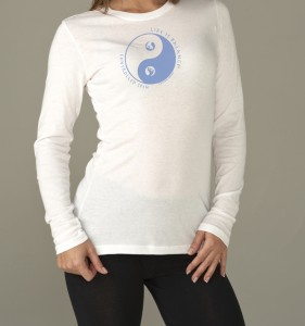 Women's long sleeve figure skating t-shirt