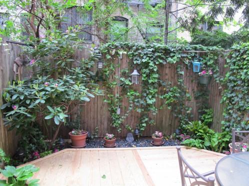 Urban Garden on the upper east side of Manhattan