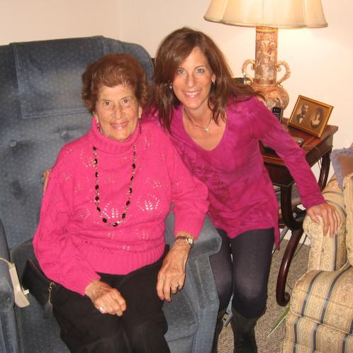 mom & sheryl